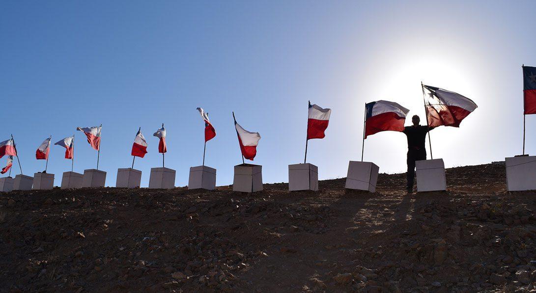 33 banderas. mina san jose