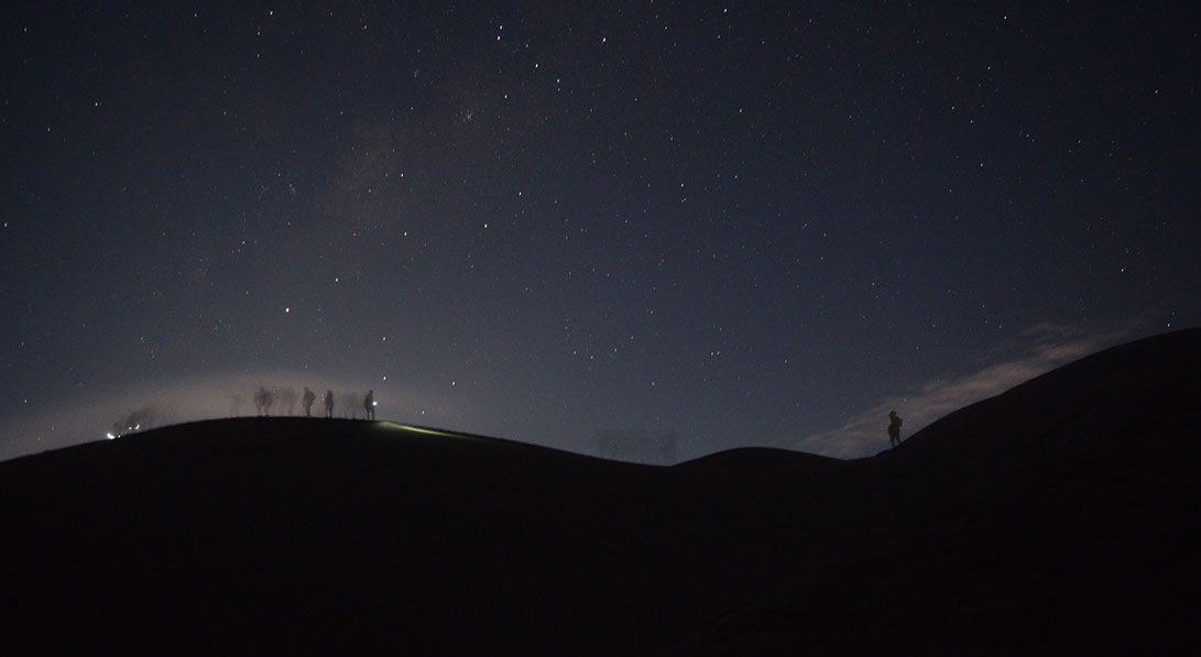 Caminata luna llena
