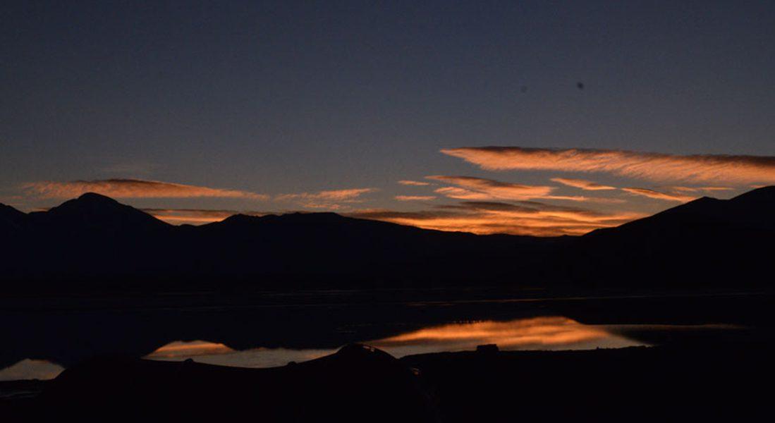 amanecer laguna santa rosa