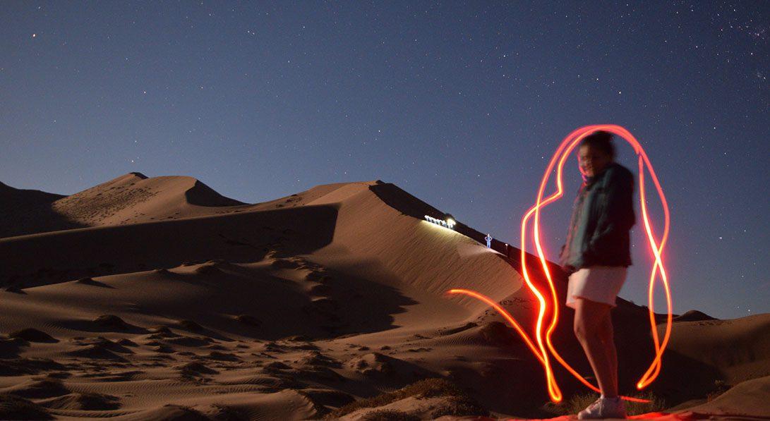 Tour Caminata Nocturna Luna Llena Mar de Dunas