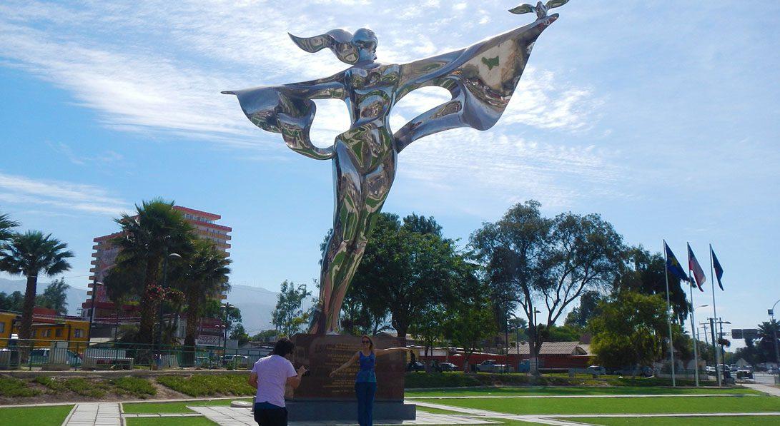 estatua por la paz mundial