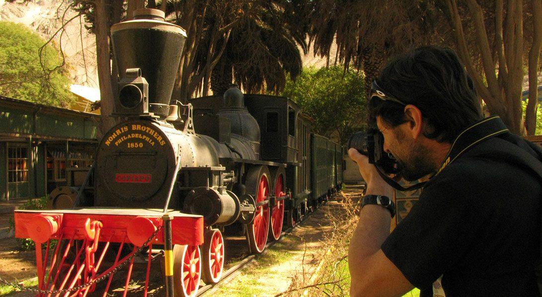 la copiapo, 1era locomotora chile