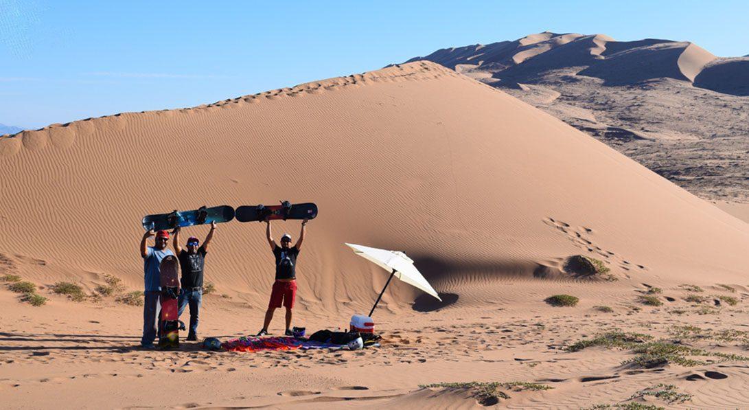 Sandboard en Atacama