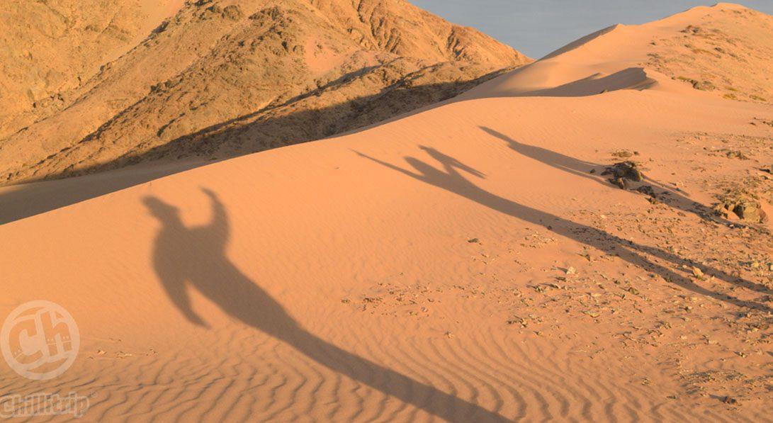 senderos colla duna